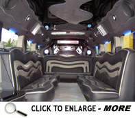 Click image to enlarge the H2 Hummer Stretch Limo